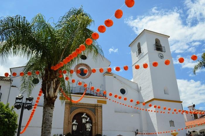 orange party Coín