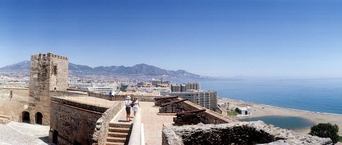 fuengirola castle views