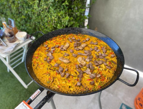 Boletus, Foie Gras & Iberian Pork Paella