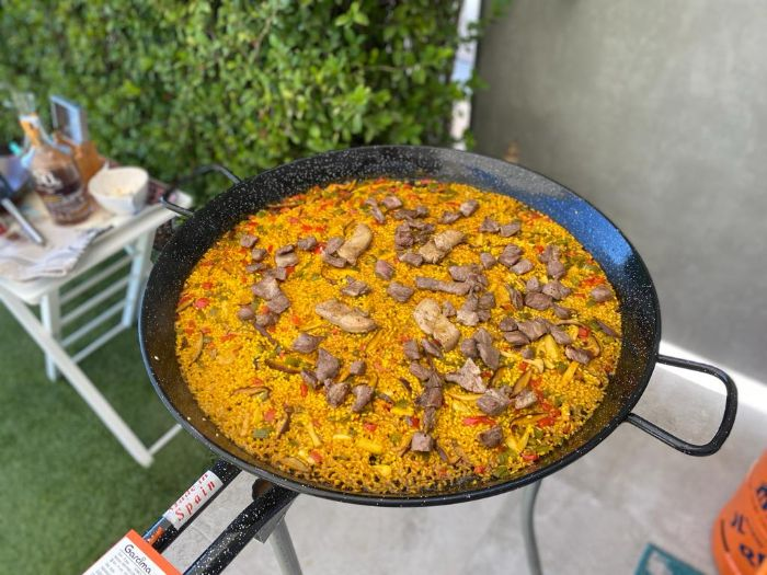 Boletus Foie Gras Iberian Pork Paella