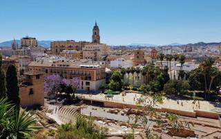 pasarela mirador la Alcazaba